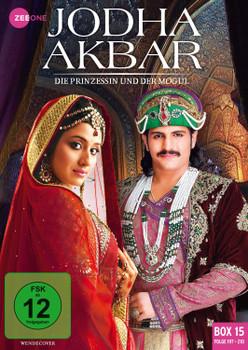 Jodha Akbar - Die Prinzessin und der Mogul [Box 15, Folge 197-210] [3 DVDs]