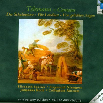 Clla - Vierzig Jahre Deutsche Harmonia Mundi - Telemann (Kantaten / Suite)