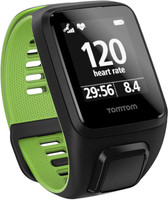 TomTom Runner 3 Cardio (bracelet large) noir/vert