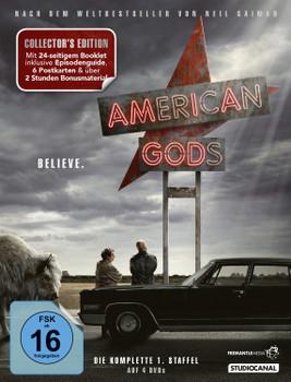 American Gods - Die komplette 1. Staffel [Collector's Edition, 4 DVDs]