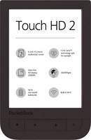 "PocketBook Touch HD 2 6"" 8GB [WiFi] marrone scuro"