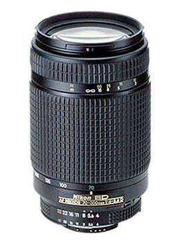 Nikon AF NIKKOR 70-300 mm F4.0-5.6 D ED 62 mm Objectif (adapté à Nikon F) noir
