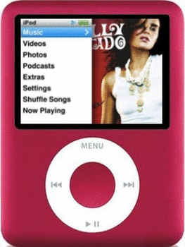 Apple iPod nano 3G 8GB rood [(PRODUCT) RED Special Edition]