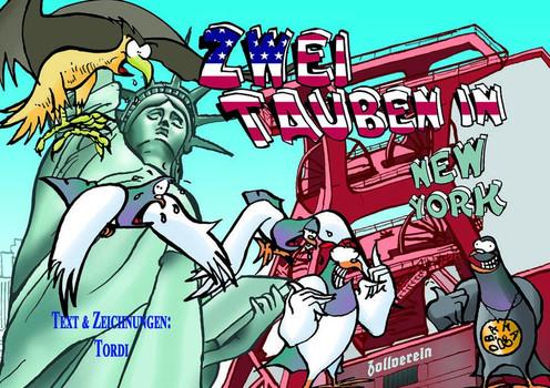 Zwei Tauben in New York - Torsten Kyon  [Taschenbuch]