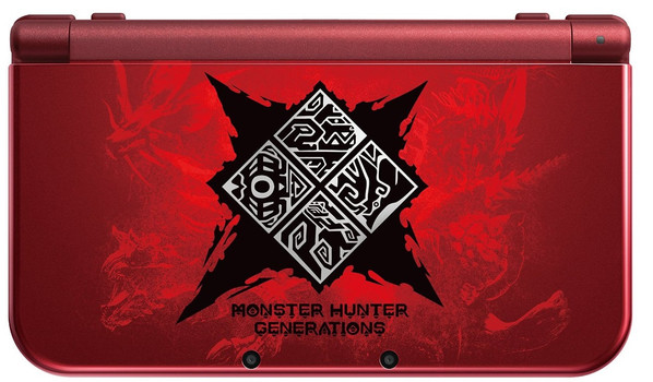 New Nintendo 3DS XL [Special Monster Hunter Generations] zwartrood
