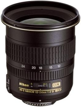 Nikon AF-S DX NIKKOR 12-24 mm F4.0 ED G IF 77 mm filter (geschikt voor Nikon F) zwart