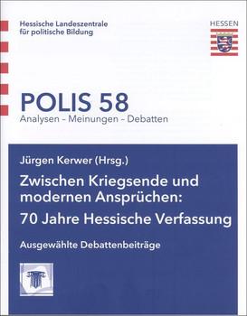 Zwischen Kriegsende und modernen Ansprüchen: 70 Jahre Hessische Verfassung. Ausgewählte Debattenbeiträge - Ute Sacksofsky [Taschenbuch]