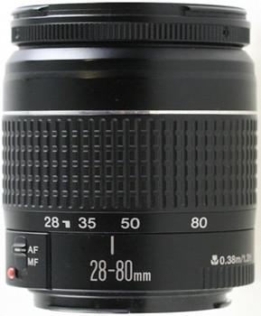 Canon EF 28-80 mm F3.5-5.6 II 58 mm Obiettivo (compatible con Canon EF) nero