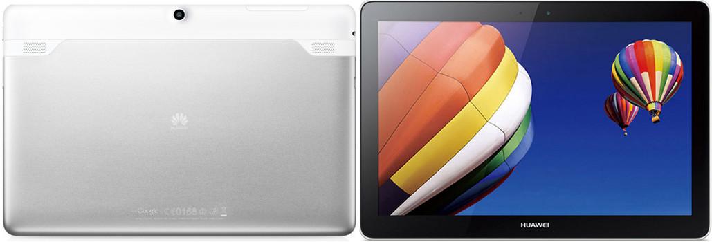 """Huawei MediaPad 10 Link+ 10,1"""" 8 Go [Wi-Fi + 3G] blanc argent"""