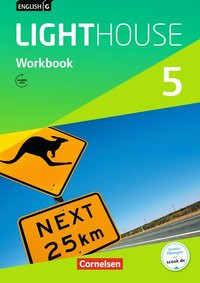 English G Lighthouse 5: Workbook - Gwen Berwick [Broschiert]
