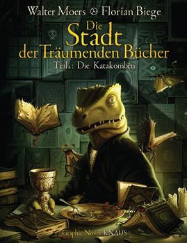 Die Stadt der Träumenden Bücher (Comic). Band 2: Die Katakomben - Walter Moers  [Gebundene Ausgabe]