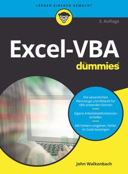 Excel-VBA für Dummies - John Walkenbach  [Taschenbuch]