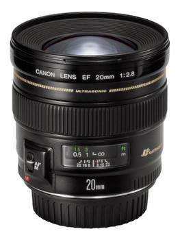 Canon EF 20 mm F2.8 USM 72 mm filter (geschikt voor Canon EF) zwart