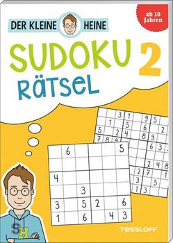 Der kleine Heine: Sudoku Rätsel 2. Kniffliger Rätselspaß - Stefan Heine  [Taschenbuch]