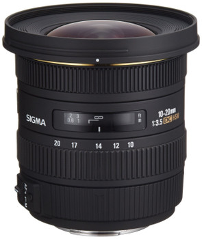Sigma 10-20 mm F3.5 DC EX HSM 82 mm Objectif (adapté à Sony A-mount) noir