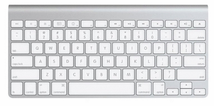 Apple Wireless Keyboard [QWERTY-toestenbord, bluetooth]