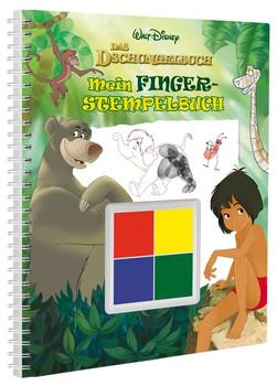 Disney Dschungelbuch Mein Fingerstempelbuch. Mit vier tollen Fingerfarben [Gebundene Ausgabe]