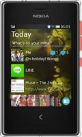Nokia 503 Asha Doble SIM 64MB rojo