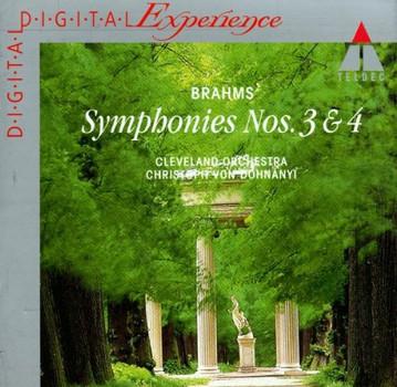 Brahms: Sinfonien Nr. 3 + 4