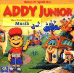 Addy Junior, Audio-CDs, Geschichten über Musik, 1 Audio-CD