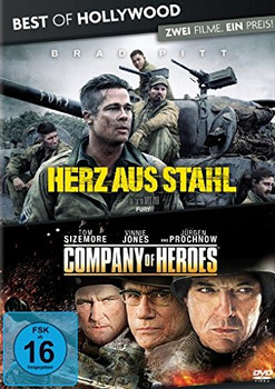 Herz aus Stahl/Company of Heroes - Best of Hollywood/2 Movie Collector's Pack, 2 DVDs]