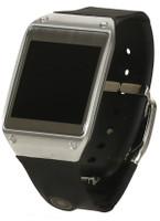 Samsung Galaxy Gear  41,4mm plata con correa de goma negra