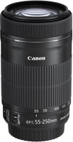 Canon EF-S 55-250 mm F4.0-5.6 IS STM 58 mm Objetivo (Montura Canon EF-S) negro