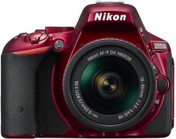 Nikon D5500 Cuerpo rojo