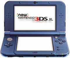 Nintendo New 3DS XL metallic blauw [incl. 4GB geheugenkaart]