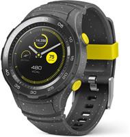 Huawei Watch 2 45mm nero con cinturino Sport grigio [Wifi]