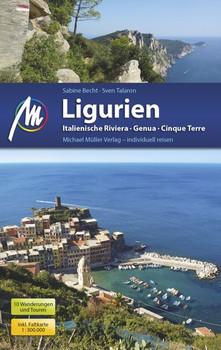 Ligurien. Italienische Riviera, Genua, Cinque Terre - Sabine Becht [Taschenbuch]
