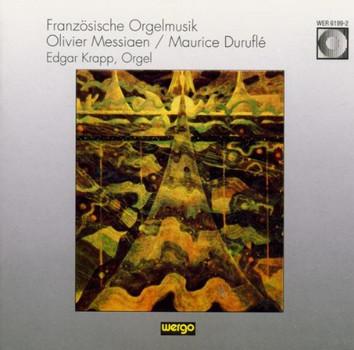 Edgar Krapp - Französische Orgelmusik