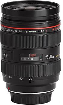 Canon EF 28-70 mm 2.8 L USM 77 mm Objectif (adapté à Canon EF) noir
