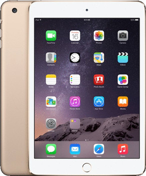 "Apple iPad mini 3 7,9"" 16GB [wifi + cellular] goud"