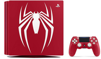 Sony Playstation 4 pro 1 TB [Spider-Man Limited Edition incl. draadloze controller] rood