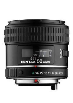 Pentax smc D FA 50 mm F 2.8 49 mm Obiettivo (compatible con Pentax K) nero