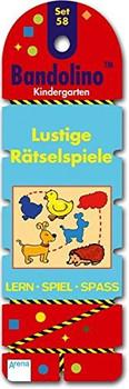 Bandolino - Set 58: Lustige Rätselspiele - Kindergarten - Lern, Spiel, Spass [Fächerbindung]