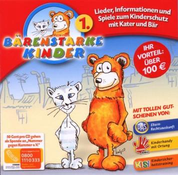 Bärenstarke Kinder - Lieder,Info,Spiele Zum Kinderschutz 1