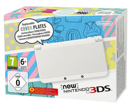 New Nintendo 3DS blanco [carcasas intercambiables]