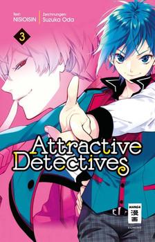 Attractive Detectives 03 - Suzuka Oda  [Taschenbuch]