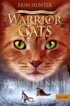 Warrior Cats - Staffel 4: Zeichen der Sterne - Band 3 - Stimmen der Nacht - Erin Hunter  [Taschenbuch]