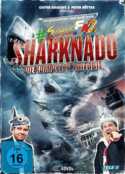 #SchleFaZ - Sharknado: Die komplette Trilogie (4 Discs)