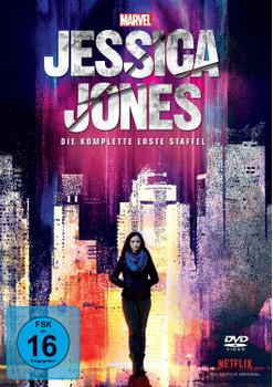 Marvel's Jessica Jones - Die komplette erste Staffel [4 Discs]