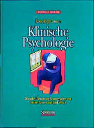 Klinische Psychologie - Ronald J. Comer