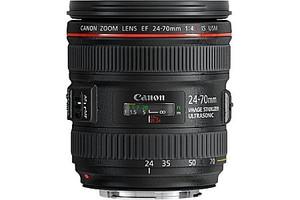 Canon EF 24-70 mm F4.0 IS L USM 77 mm filter (geschikt voor Canon EF) zwart