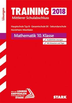 Lösungen zu Training Mittlerer Schulab- schluss - Mathe 10. Kl. - Hauptschule Typ B/Gesamtschule EK/Sek.schule - NRW [Taschenbuch]