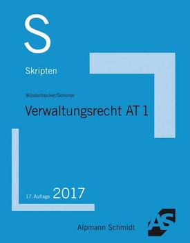 Skript Verwaltungsrecht AT 1 - Christian Sommer [Taschenbuch]