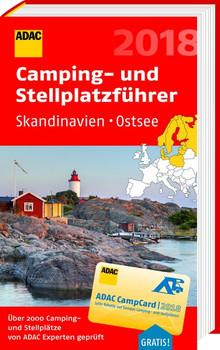 ADAC Camping-/Stellplatzführer Skandinavien und Ostsee. Rund 2.000 Camping-Stellplatzführer von ADAC Experten getestet - ADAC Verlag GmbH & Co KG  [Taschenbuch]