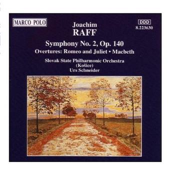 Urs Schneider - Symphonie Nr. 2 /Ouvertüren: Romeo & Julia - Macbeth