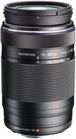 Olympus 75-300 mm F4.8-6.7 ED II 58 mm filter (geschikt voor Micro Four Thirds) zwart